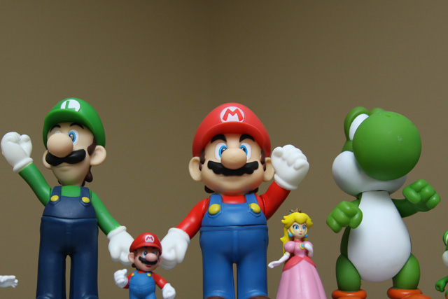 Just because Mario is awesome