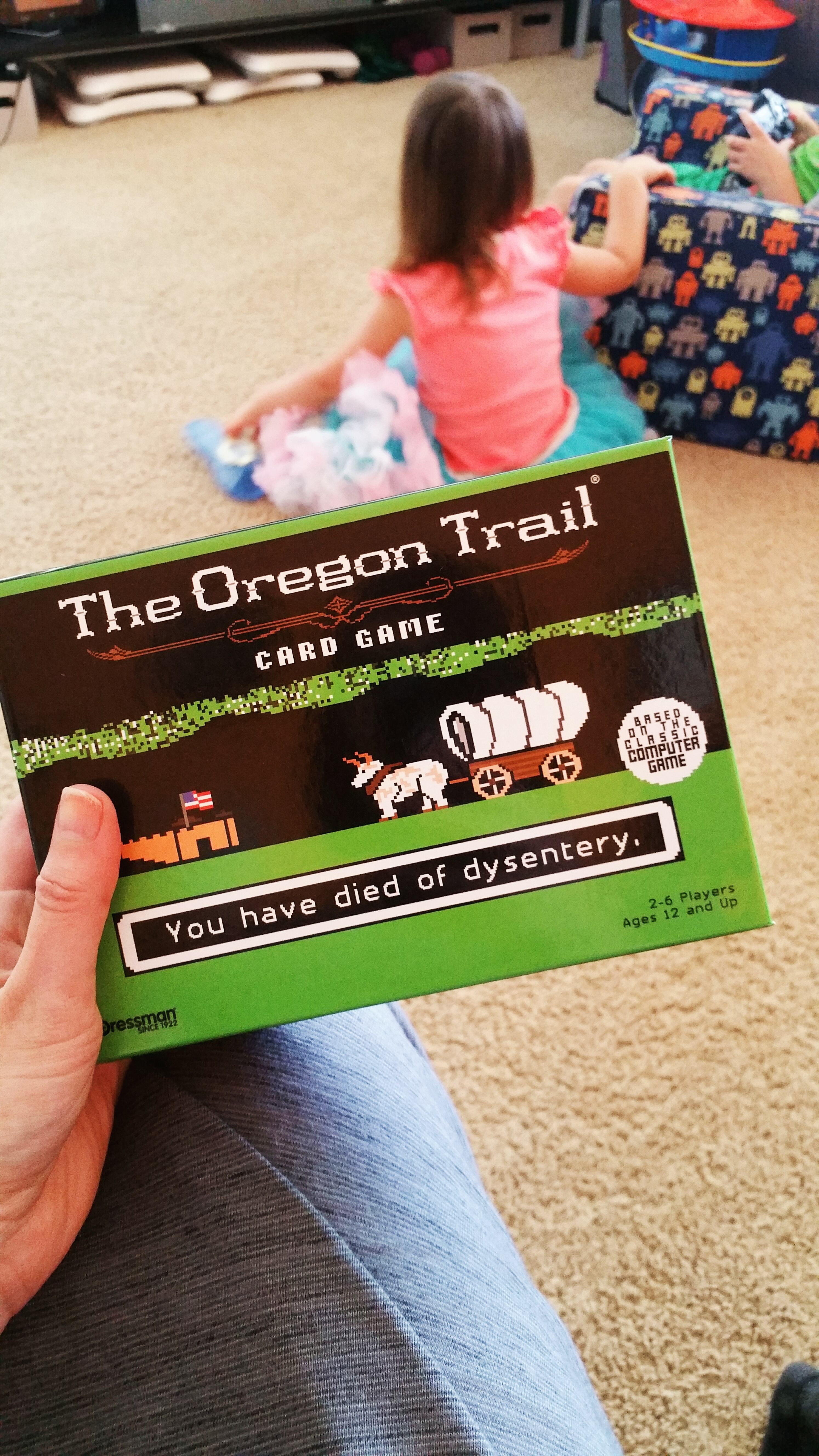 The Oregon Trail – Card Game | Dino and Bunnies